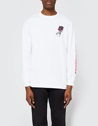 Obey Modern Lovers Ls Tee White