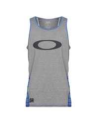 Oakley Tank Tops Grey
