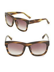 3.1 Phillip Lim 56Mm Square Gradient Sunglasses Brown