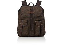 Campomaggi Canvas Backpack Gray
