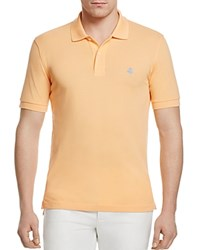 Brooks Brothers Cotton Classic Fit Polo Light Orange