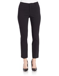 Lord And Taylor Petite Kelly Ankle Pants Black