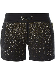 Versace Jeans Studded Shorts Black