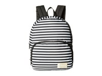Roxy Always Core Backpack Bright White Basic Strip Bags Multi