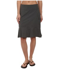 Royal Robbins Embossed Discovery Skirt Obsidian Women's Skirt Brown