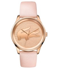 Lacoste Women's Victoria Blush Leather Strap Watch 38Mm No Color