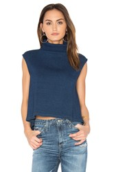 Ag Adriano Goldschmied Capsule Rectro Turtleneck Sweater Blue