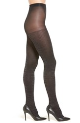 Hue Women's Ribbed Metallic Tights