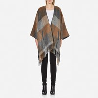 Boss Orange Women's Ofringy Wrap Cape Multi