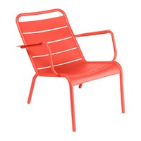 Fermob Luxembourg Low Armchair Poppy