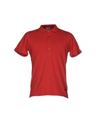 Bark Polo Shirts Red