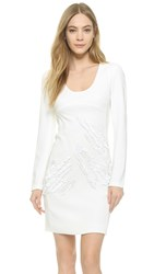 Maiyet Embroidered Dress Chalk