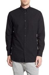 Zanerobe 'Seven Ft.' Woven Shirt Black