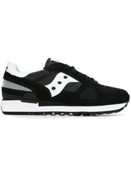 Saucony Contrast Panel Sneakers Black