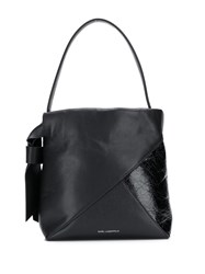 Karl Lagerfeld K Geo Small Hobo Bag Black