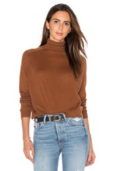 Vince Turtleneck Sweater Brown