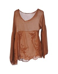 Giorgia And Johns Blouses Brown