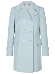 Windsmoor Chelsea Double Breasted Wool Coat Ice Blue