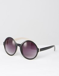 Missguided Oversized Frame Sunglasses Brown