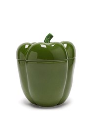 Bordallo Pinheiro Pepper Jar Green