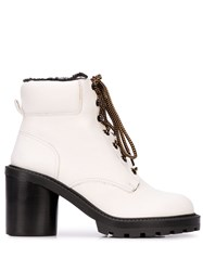 Marc Jacobs Crosby Hiking Boot White