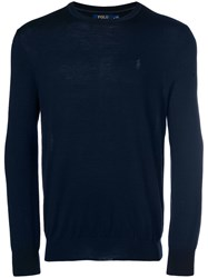 Polo Ralph Lauren Perfectly Fitted Sweater Blue