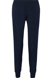 Stella Mccartney Wool Track Pants Midnight Blue