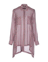 Soallure Shirts Shirts Women Red