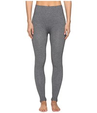 Spanx Look At Me Now Seamless Leggings Charcoal Heather Women's Casual Pants Gray