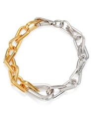 Annelise Michelson Ellipse Chain Choker Gold Silver