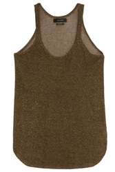 Isabel Marant Vala Lurex Tank Top