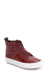 Vans Women's 'Hana Beaman Sk8 Hi 46 Mte' Waterproof High Top Sneaker Port Royale Pebble Leather
