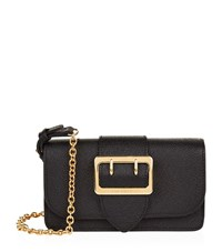 Burberry Shoes And Accessories Mini Leather Buckle Bag Female Black
