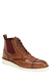 Lloyd 'Brighton' Cap Toe Boot Men Brown