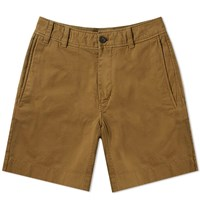 Acne Studios Robin Garment Dyed Twill Short Green