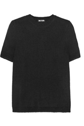 Holly Fulton Knitted Top Black