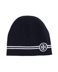 Tory Burch Reversible Wool Beanie Hat