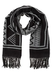 Evenandodd Scarf Black White