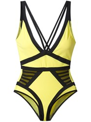 Moeva Elle Swimsuit Yellow Orange