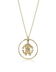 Roberto Cavalli Rc Icon Long Necklace W Charm