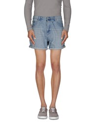 Cheap Monday Denim Denim Bermudas Men Blue