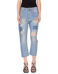 Miss Miss By Valentina Denim Denim Trousers Women