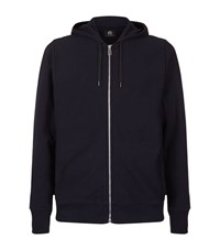 Paul Smith Ps By Zip Front Hoodie Male Navy