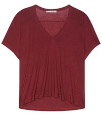 Acne Studios Kileo Jersey Top Red
