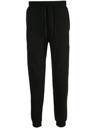Kent And Curwen Tapered Track Pants Black