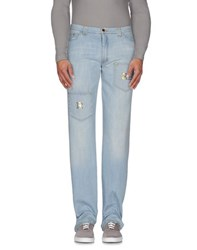 Roccobarocco Denim Denim Trousers Men