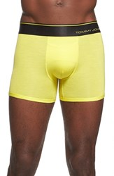 Men's Tommy John 'Second Skin' Trunks Aurora Yellow