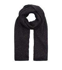 Sandro Elena Lurex Woven Scarf Female Grey