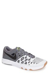 Nike Men's 'Train Speed 4' Training Shoe Platinum Black Cool Grey