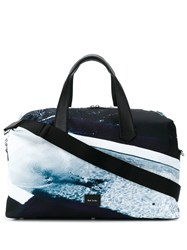Paul Smith Ps Beach Print Holdall Grey